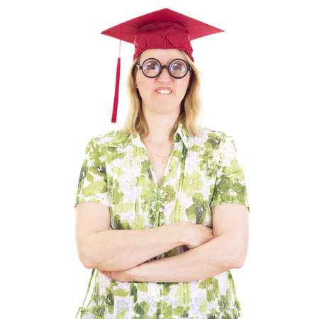 collegian: Female graduate