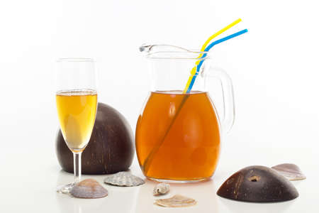 quencher: How about a fruity thirst quencher? Stock Photo