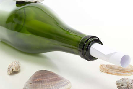 Have you read the message in the bottle? photo