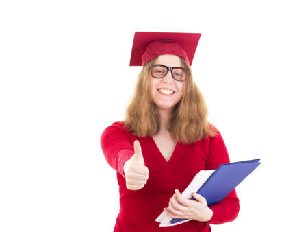 collegian: Female graduate very happy about her choice of major