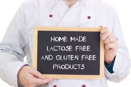 Home made lactose free and gluten free products photo