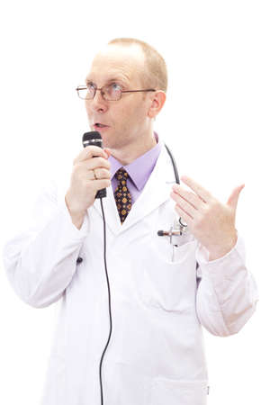 impulsive: Impulsive medical doctor discussing about something