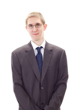 Young male business person representing business concern Stock Photo - 20615682