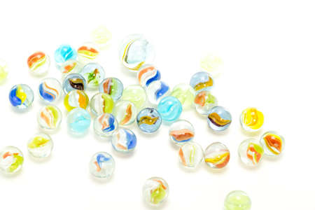 murmur: Enjoy your leisure time with playing marbles  Stock Photo