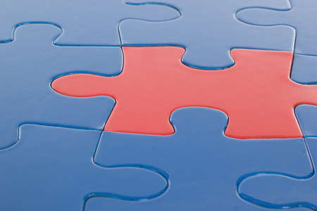Solving the problem by putting the right pieces together photo