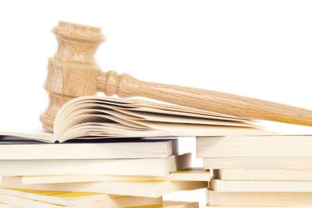 jurisprudencia: El estudio de la jurisprudencia para ser juez Foto de archivo
