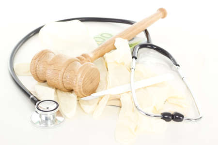 Conducting lawsuit against corruption in health system Stock fotó