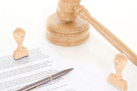 Signing contract of employment 版權商用圖片