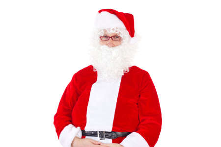 Santa Claus on white background photo