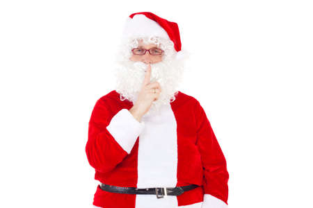 Be quiet  Santa Claus is coming photo
