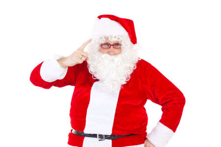 Santa Claus saying to you that you was not nice photo