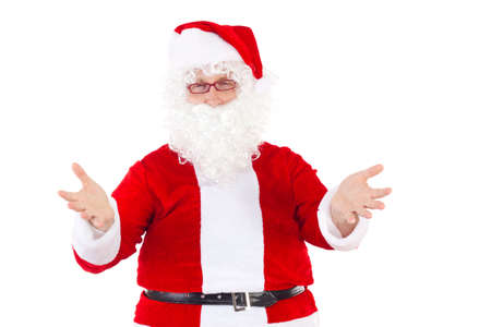 Santa Claus welcomes all nice children photo