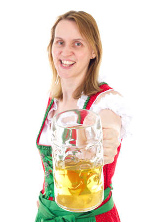 well known: Let us clink our glasses at next Oktoberfest Stock Photo