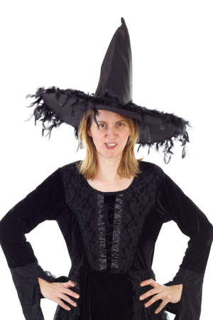 'dark ages': Witch of Dark Ages Stock Photo