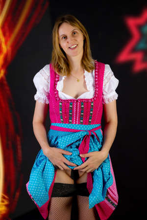 What to wear under dirndl photo