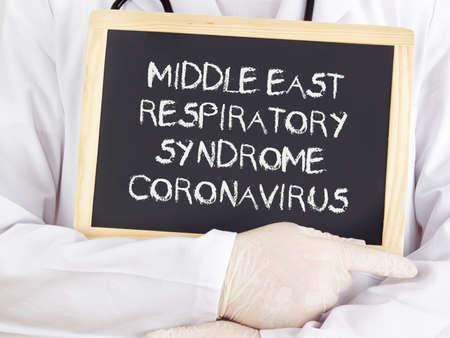 coronavirus: Middle east respiratory syndrome coronavirus