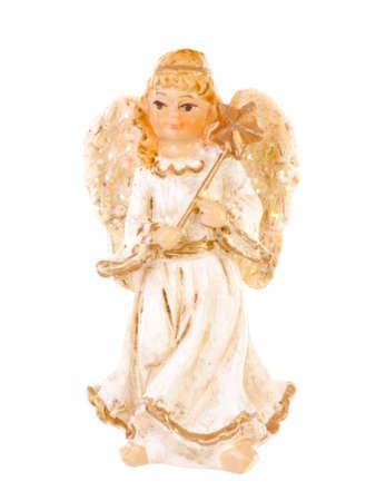 Christmas angel brightened