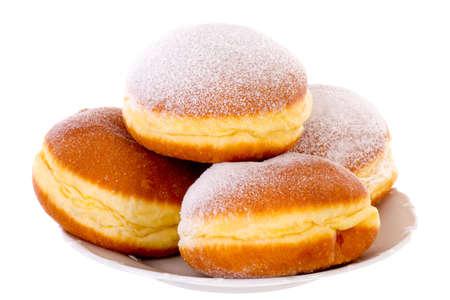 Krapfen Berliner Pfannkuchen Bismarck Donuts photo
