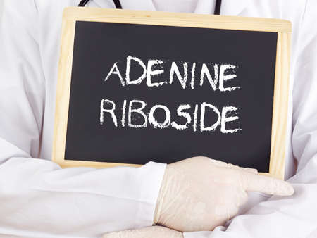 adenine: Doctor shows information: adenine riboside