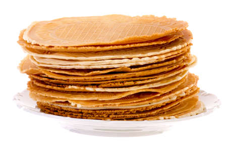 titbits: Pack of fresh baked krumkakes brightened
