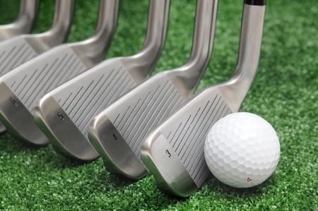 golf iron comparison, classic blades, different head angle