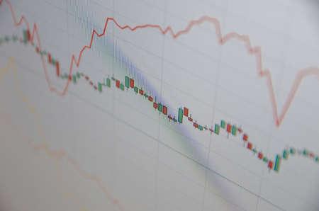 volatility: Cartas comunes. Concepto financiero. Foto de archivo