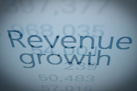 buy shares: Revenue growth text