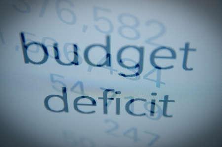 macroeconomic: budget deficit text