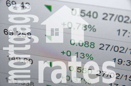 mortgage: Housing market concept