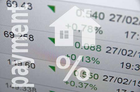 financial sector: Housing market concept