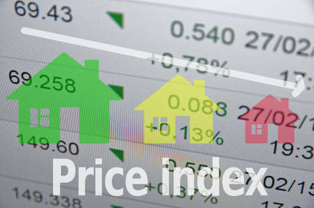 housing market: Housing market concept