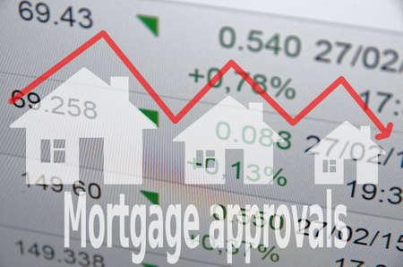 financial sector: Housing market concept.