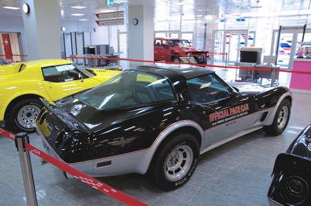 chevrolet: SOCHI, RUSSIA - JUNE 12, 2015: Chevrolet Corvette C3 in the Sochi Auto Museum, on June 12 2015. Editorial