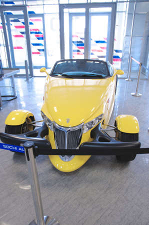 prowler: SOCHI, RUSSIA - JUNE 12, 2015: Plymouth Prowler in the Sochi Auto Museum, on June 12 2015.