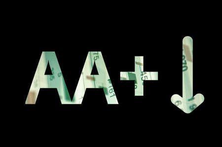 aa: Inscription AA and arrow on a PC screen.