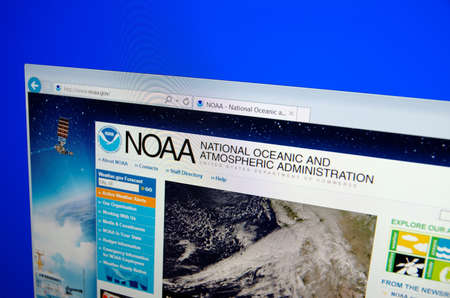 oceanic: Saransk, CIRCA, 2015: National Oceanic and Atmospheric Administration (NOAA) home page