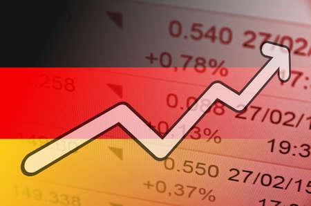 multiple exposure: Positive Trend in Germany Market.