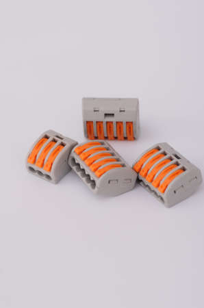 Compact Splicing Connectors Stock Photo