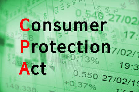 Acronym CPA as Consumer Protection Act