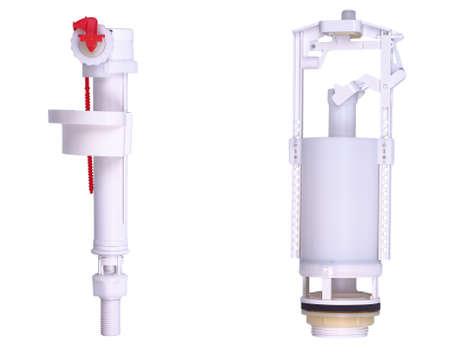 Flush kit isolated on white