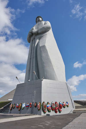 Murmansk, Russia - June 06, 2021: Alyosha Monument, Murmansk. Redactioneel