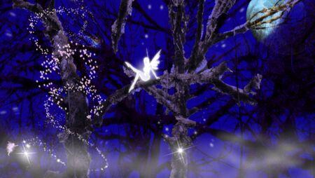Pixies at night Stock Photo - 11031588