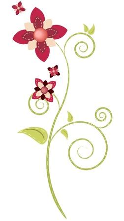 Pink flower Stock Vector - 11096958