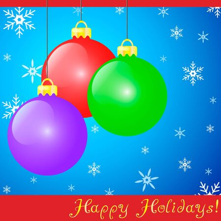 Holiday Decorations Stock Vector - 11438654