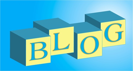 Blog Blocks Фото со стока - 11438651