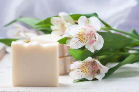 Natural Handmade Soap. Spa.