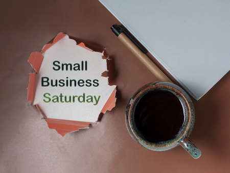 Conceptual hand writing showing Small Business Saturday. Business photo showcasing American shopping holiday held during the Saturday