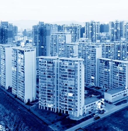 Hong Kong apartment at night photo