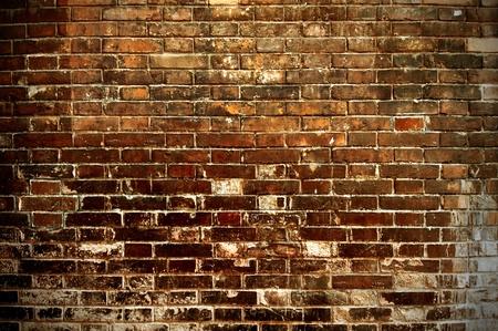Grunge stile of brick wall photo