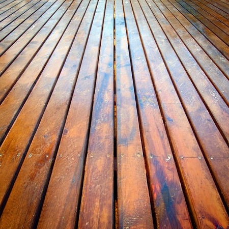 polished: textura agradable parqu� marr�n